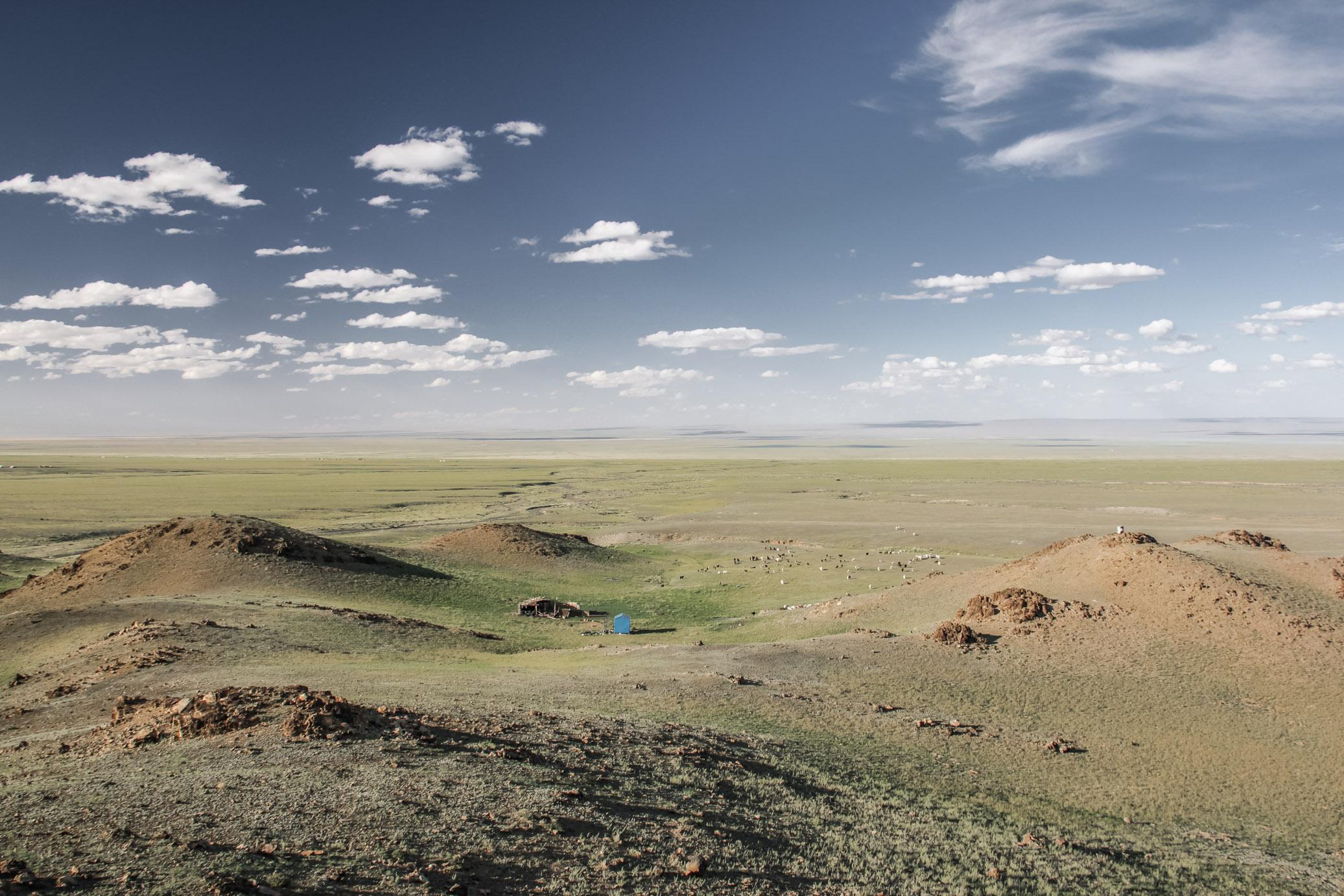 Gobi - plaine en Mongolie