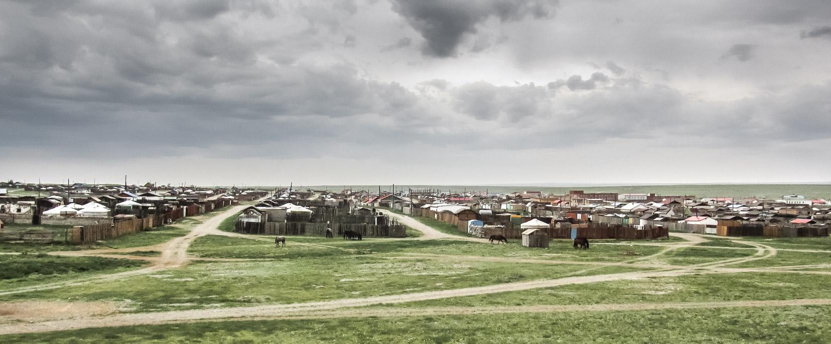 village mongol d'Erdendalay