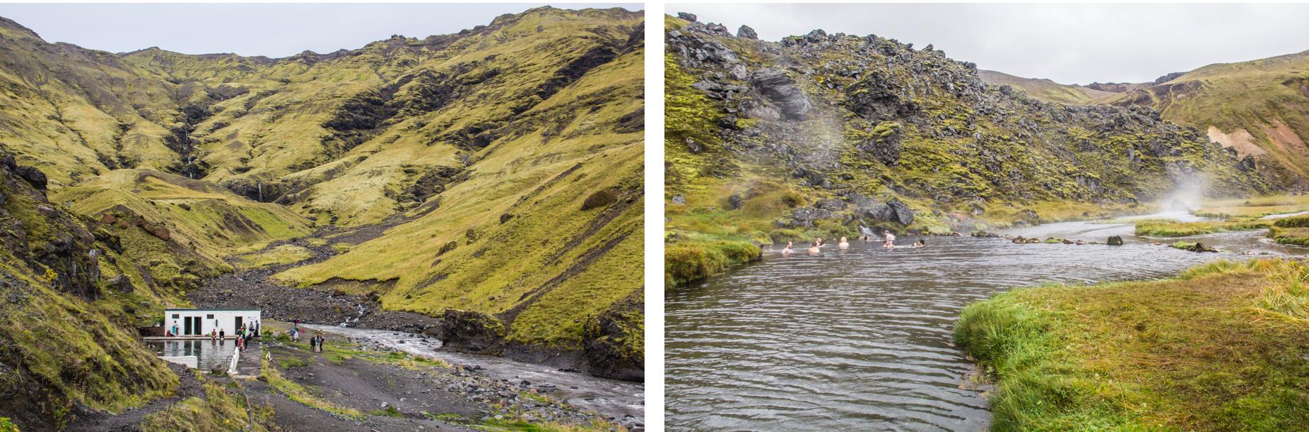 Les hotpot en Islande.