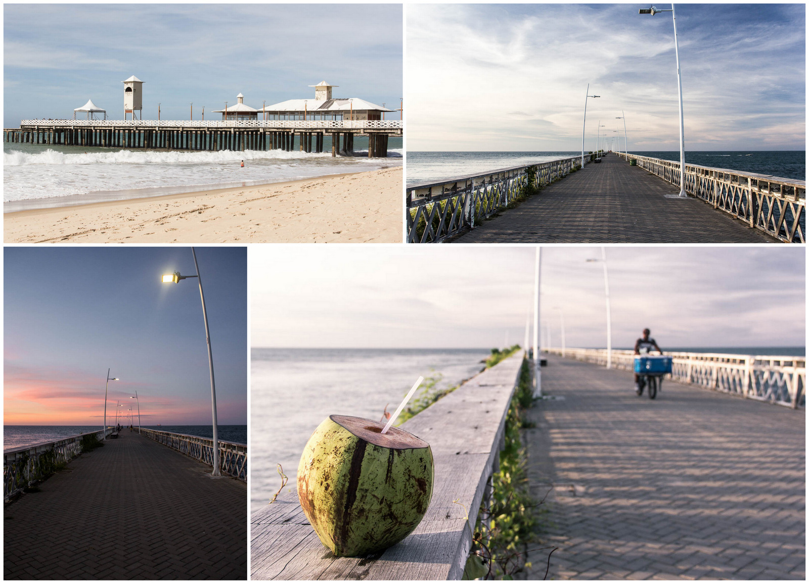 Les pontons de Fortaleza - Route des Sensations