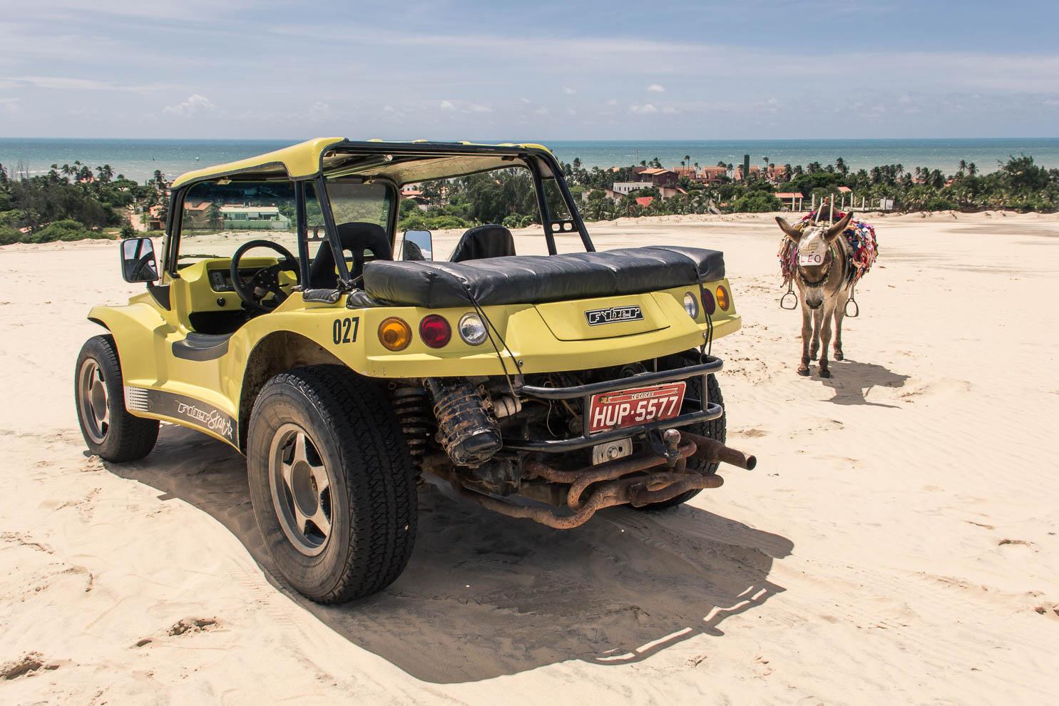 Buggy dans les dunes de Cumbuco - Route des Sensations