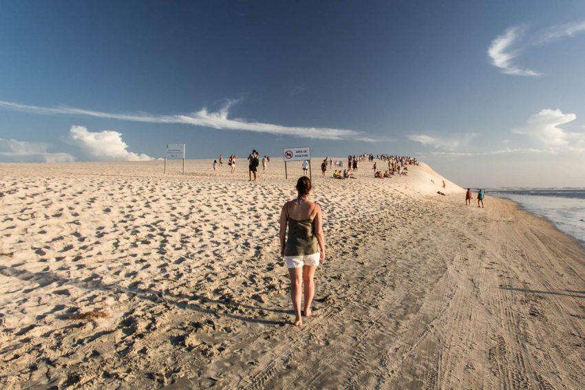 Dune du pôr do sol à Jericoacoara - Route des Sensations