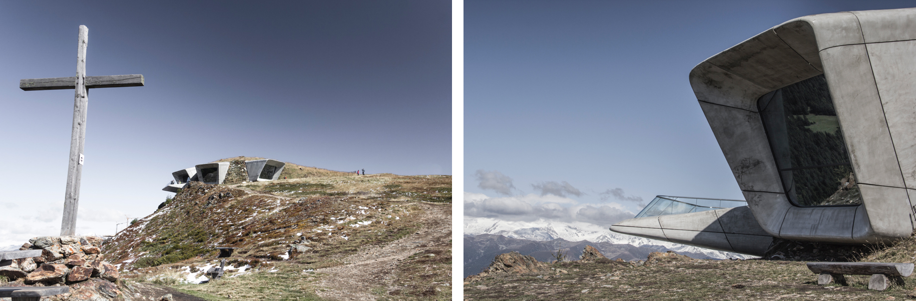 Le Messner Mountain Museum de Corona, dans les Dolomites.