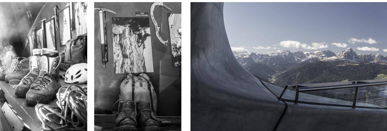 Le Messner Mountain Museum de Corones dans les Dolomites.