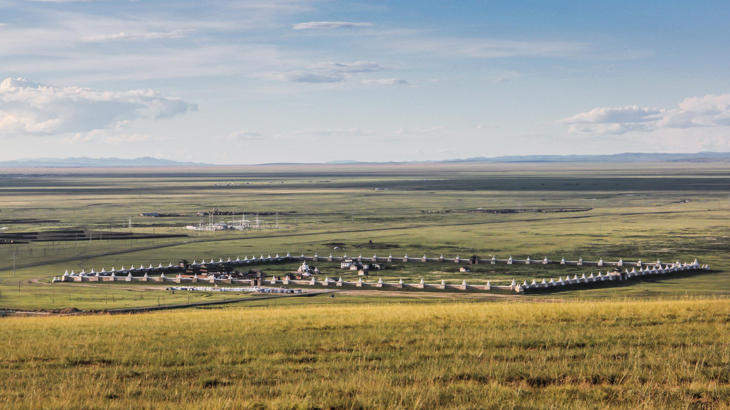 Monastère d'Erdene Zuu en Mongolie