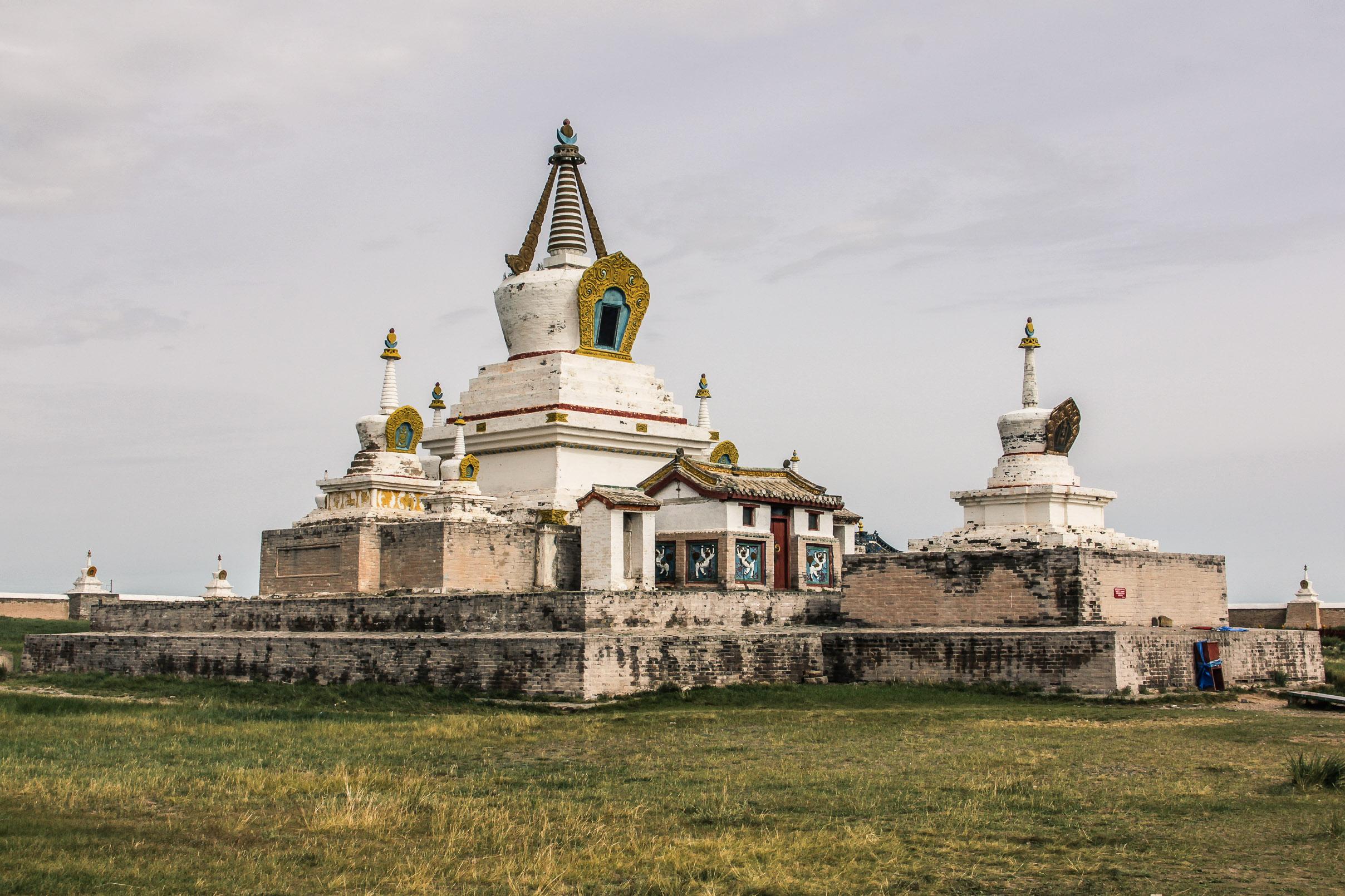 Stupa au Monastère d'Erdene ZUU