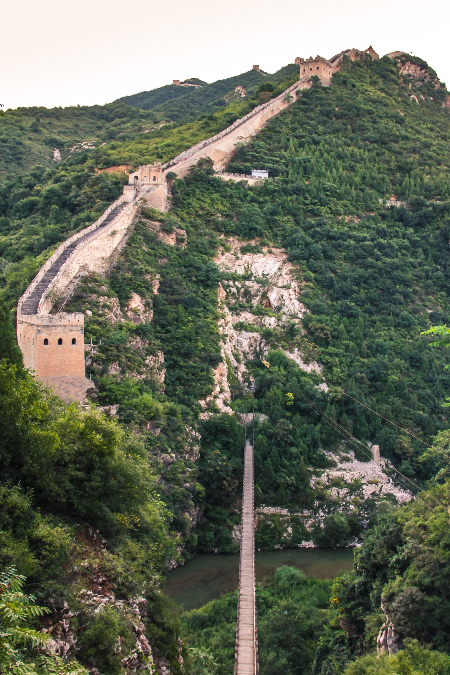 Grande Muraille à Simatai