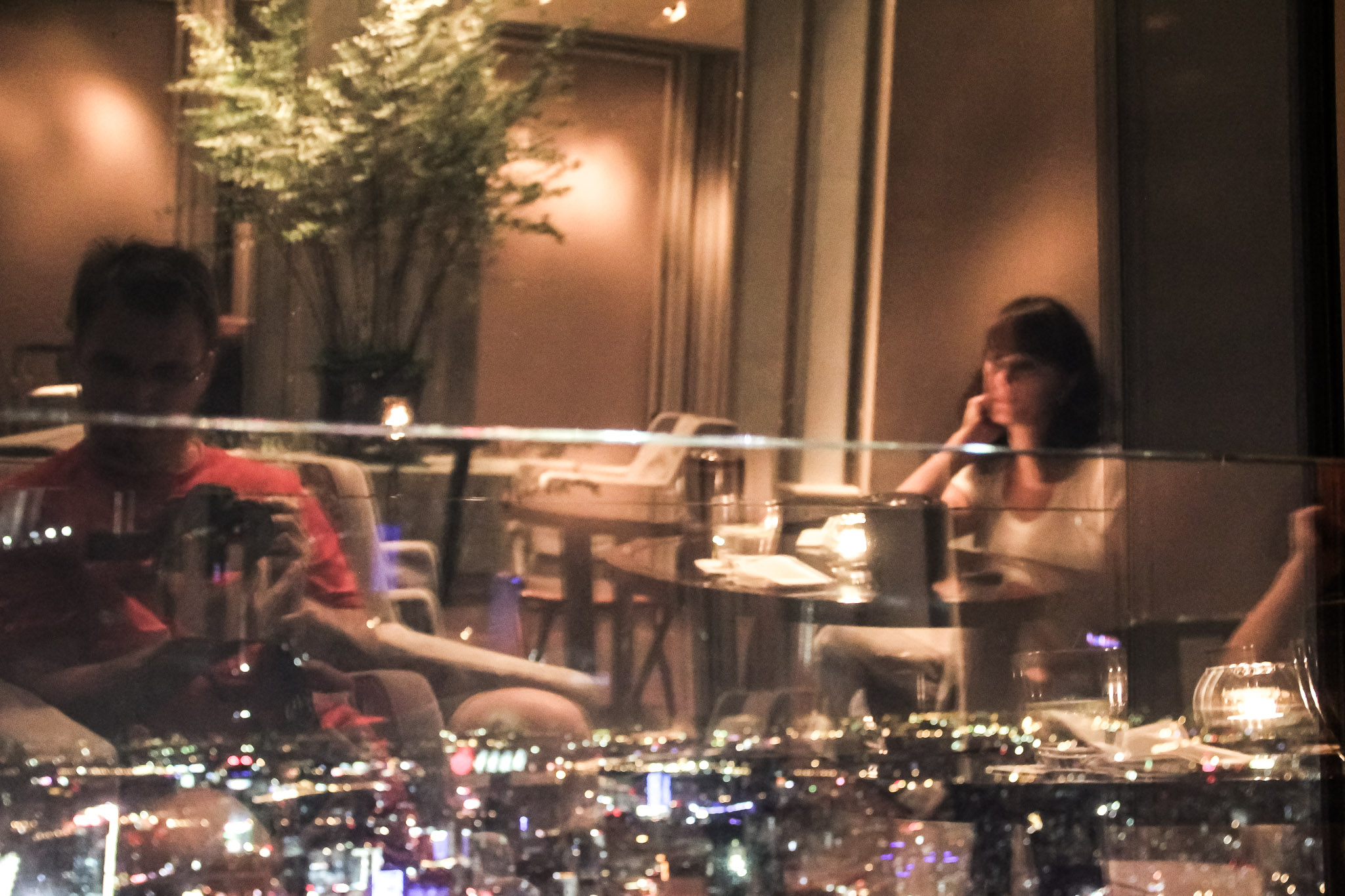 Bar du Park Hyatt à Shanghai