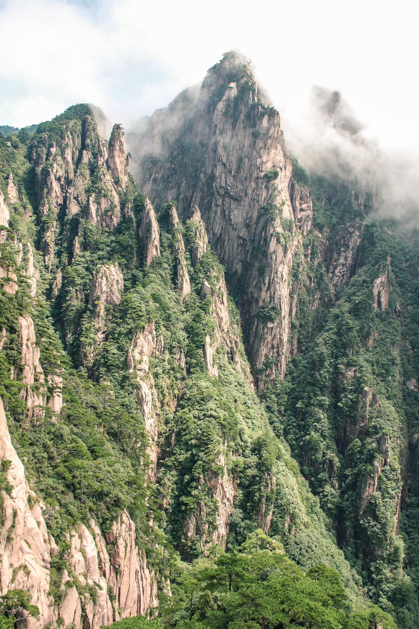 Huangshan, ou Montagnes Jaunes