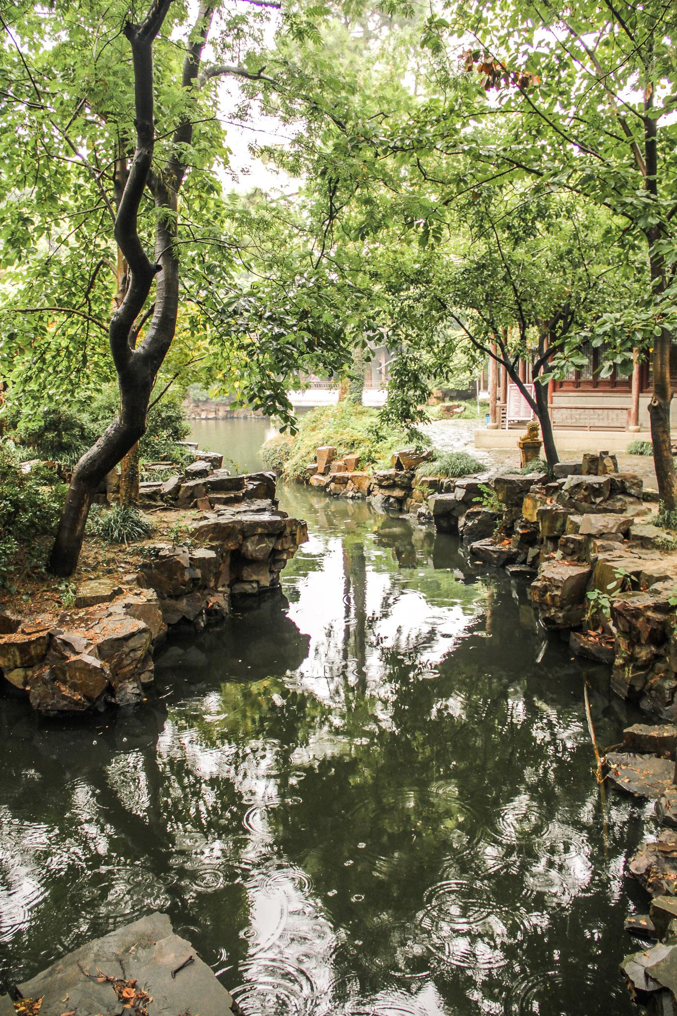 parc du Temple Bouddhiste de Bao'en