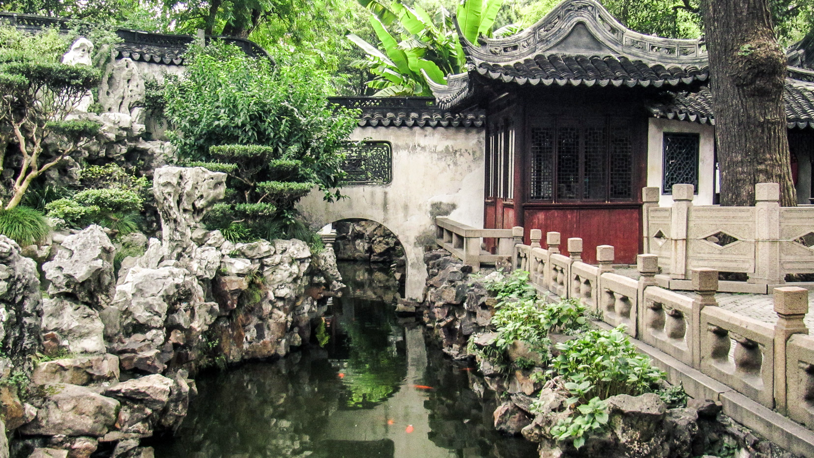 Jardin de Yuyuan à Shanghai