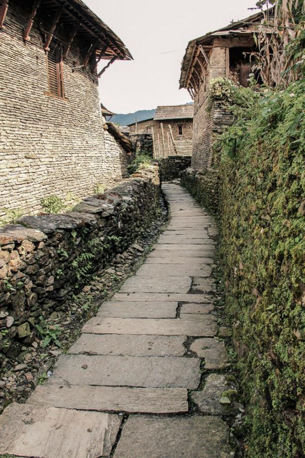Village de Ghandruk sur le trek de Poon-Hill