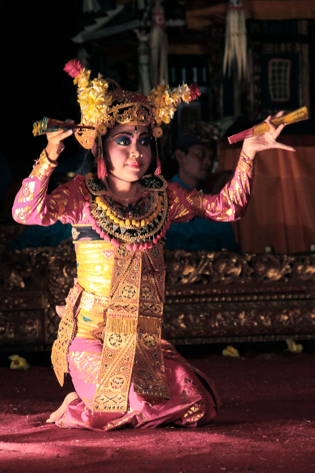 Danseuse de Barong et Legong à Ubud