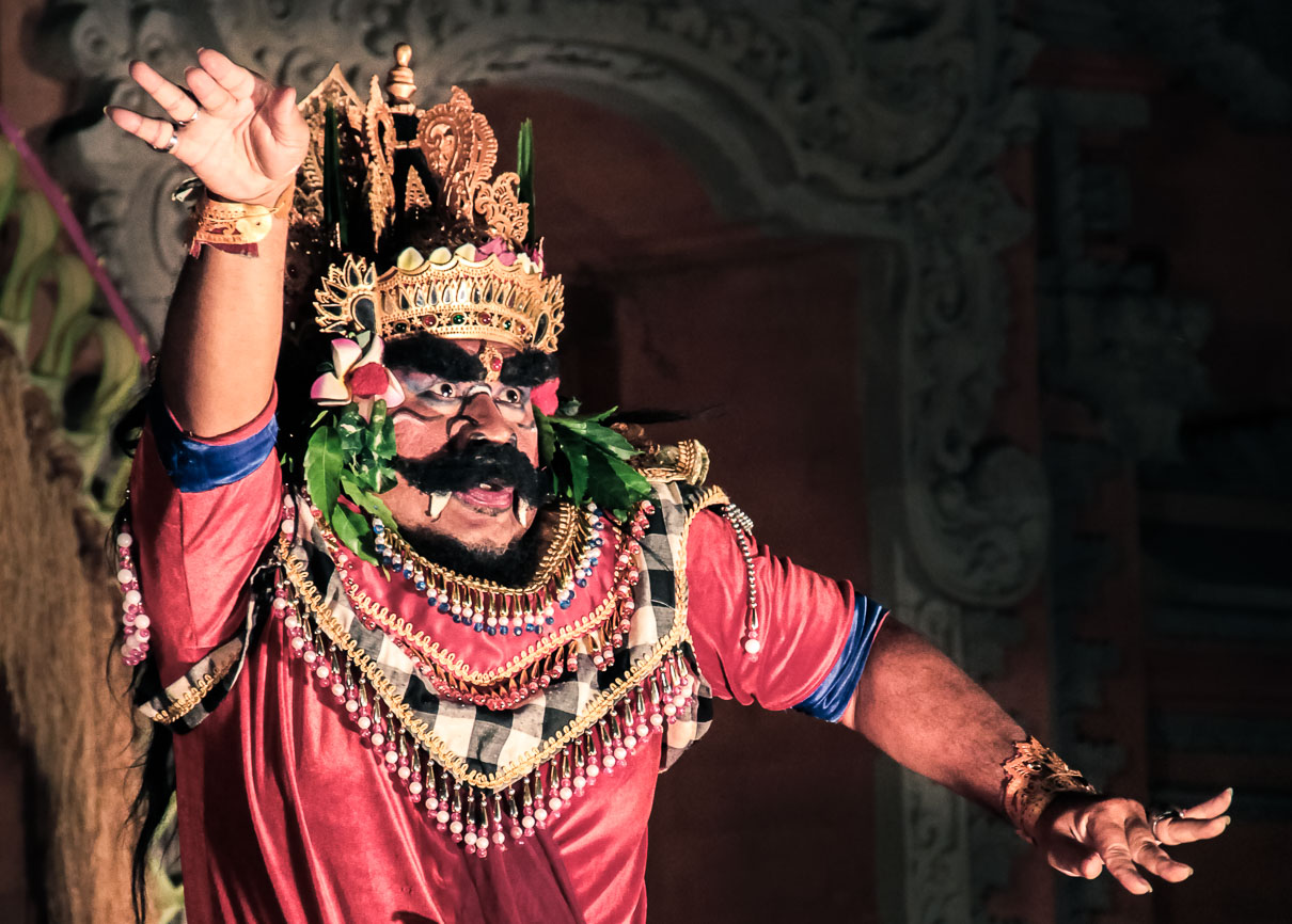 Danseur de Legong à Bali
