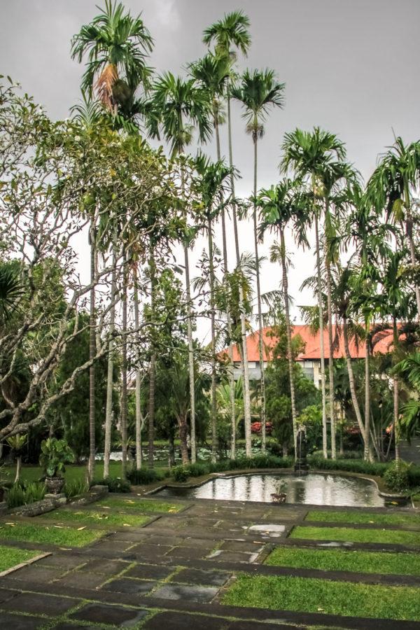 Jardin du musée Puri Lukisan à Ubud, Bali