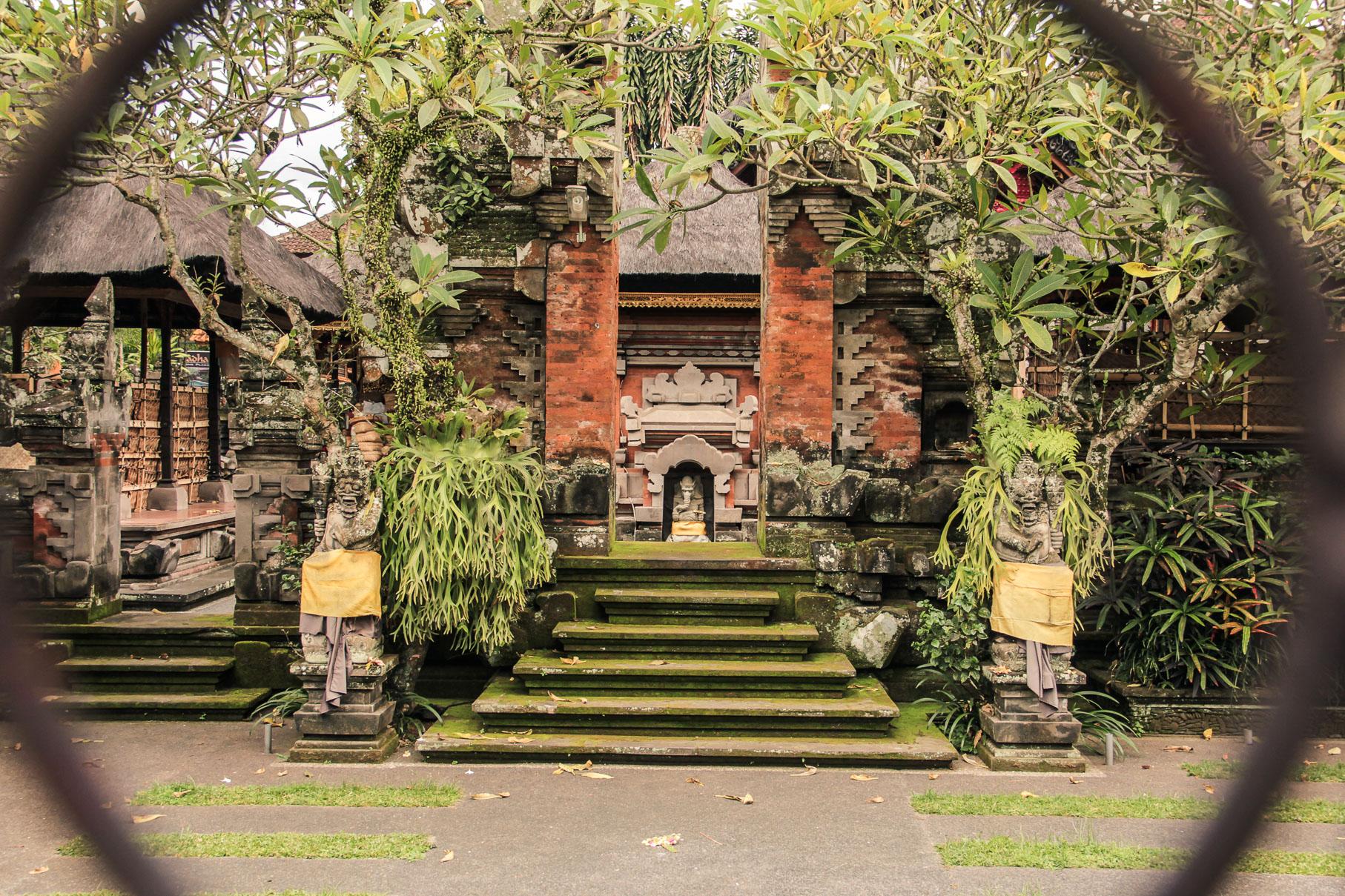 Palais d'Ubud à Bali