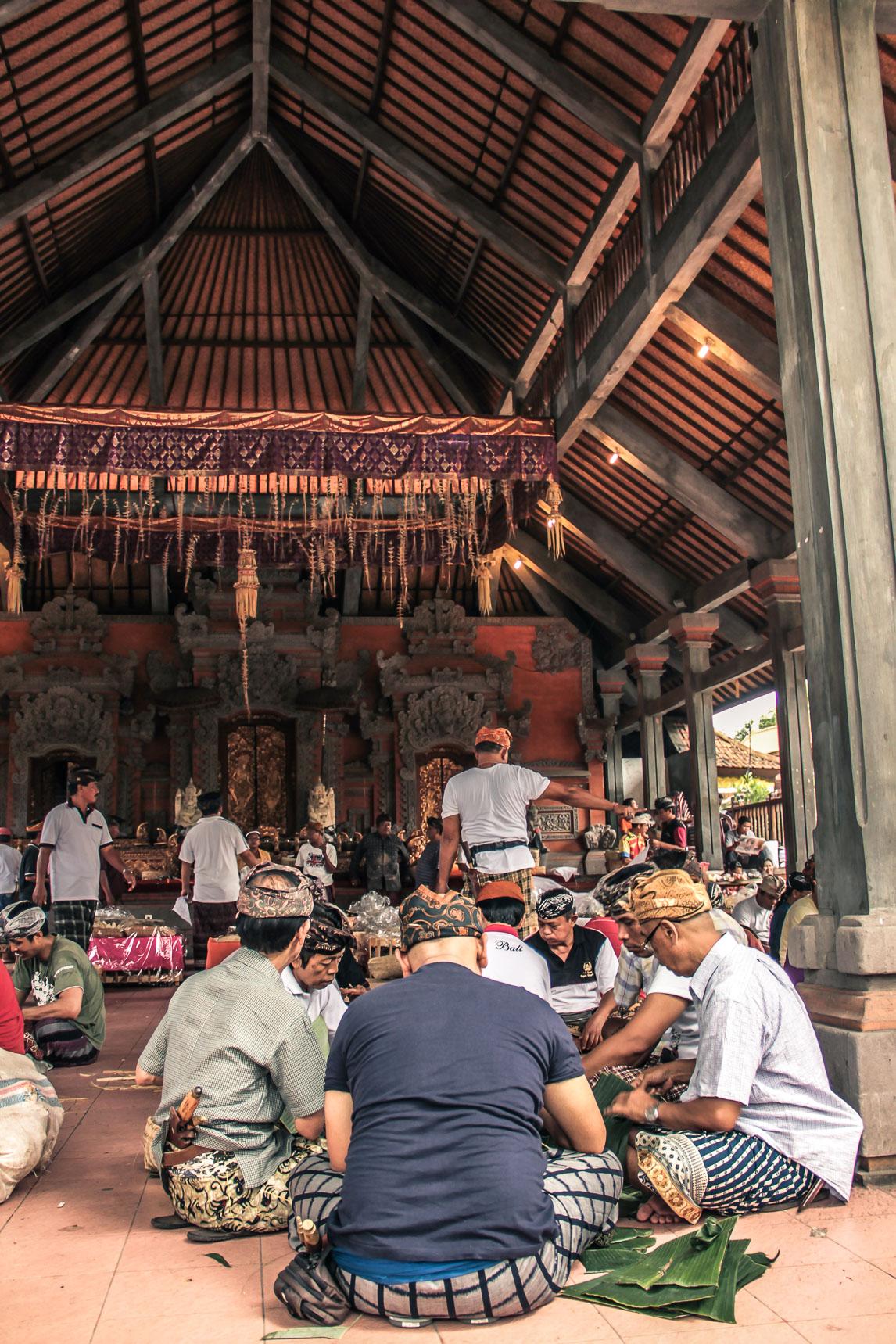 Hommes à Ubud