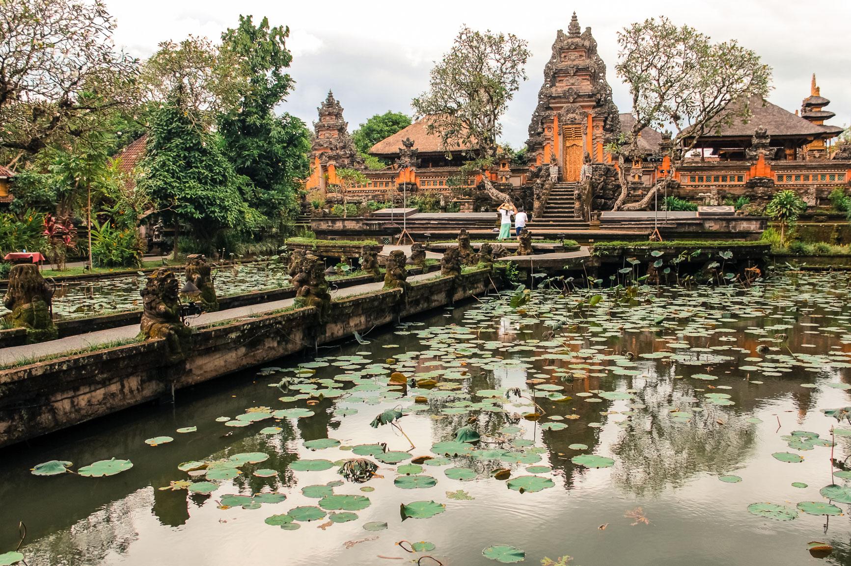 Pura Taman Saraswati à Ubud, Bali