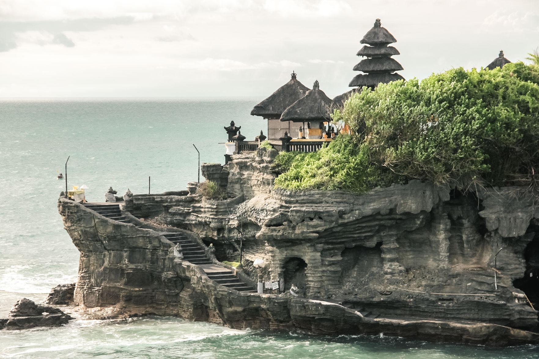 Temple Tanah Lot à bali