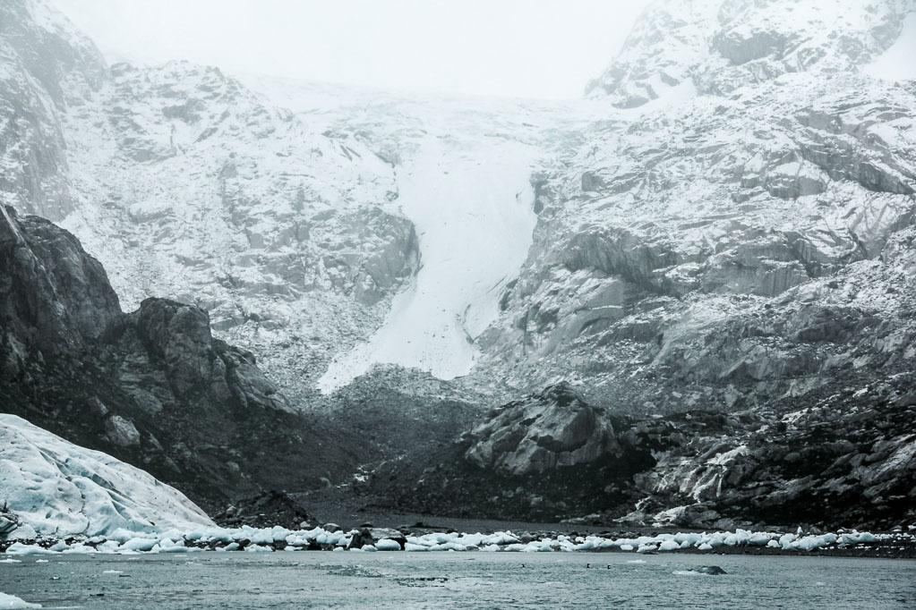 Glacier Nena dans le détroit de Magellan