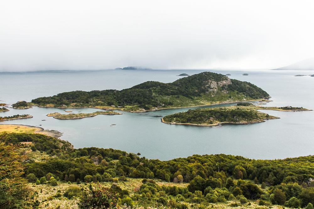 Baie de Wulaia en Patagonie chilienne