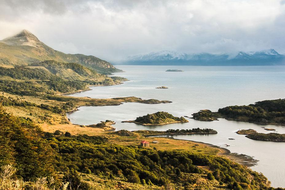 La Baie de Wulaia en Patagonie chilienne.
