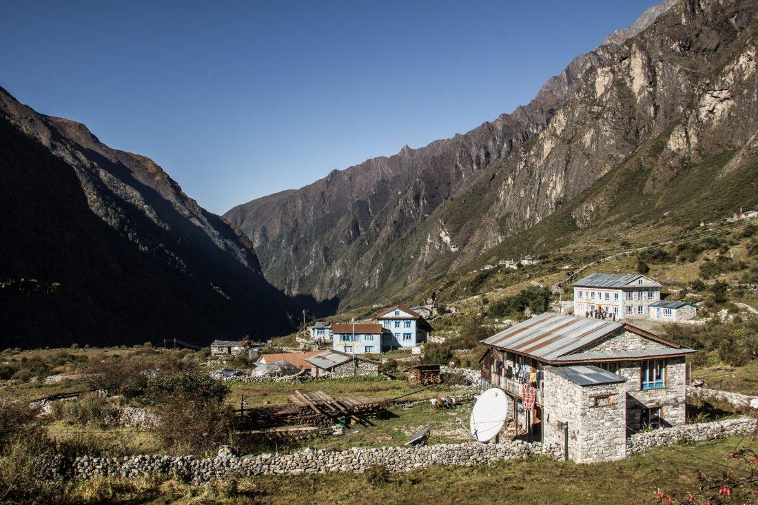 Trek de Langtang au Népal.