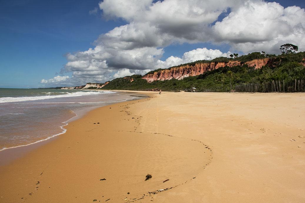 Plage de Pitinga à Arraial d'Ajuda, Bahia