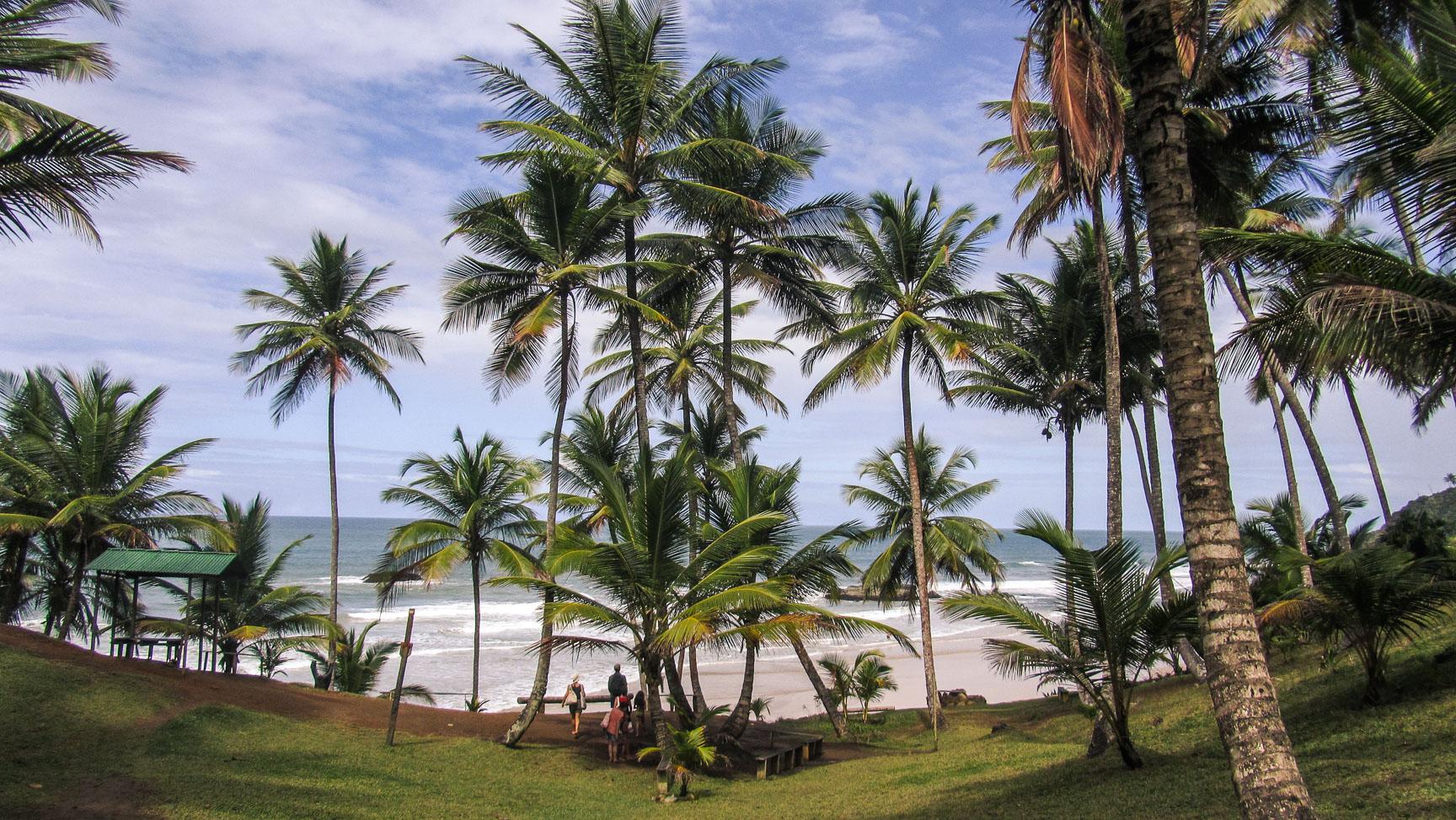 Plage du Hawaizinho à Itacaré