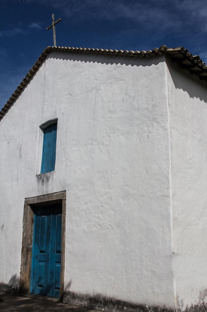 Eglise dans la Cité Historique de Porto Seguro