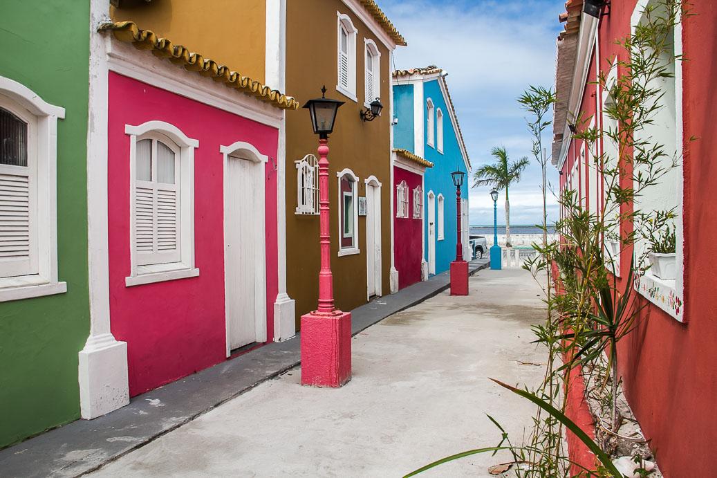 Ruelle de la Passarela do Decobrimento à Porto Seguro, Bahia