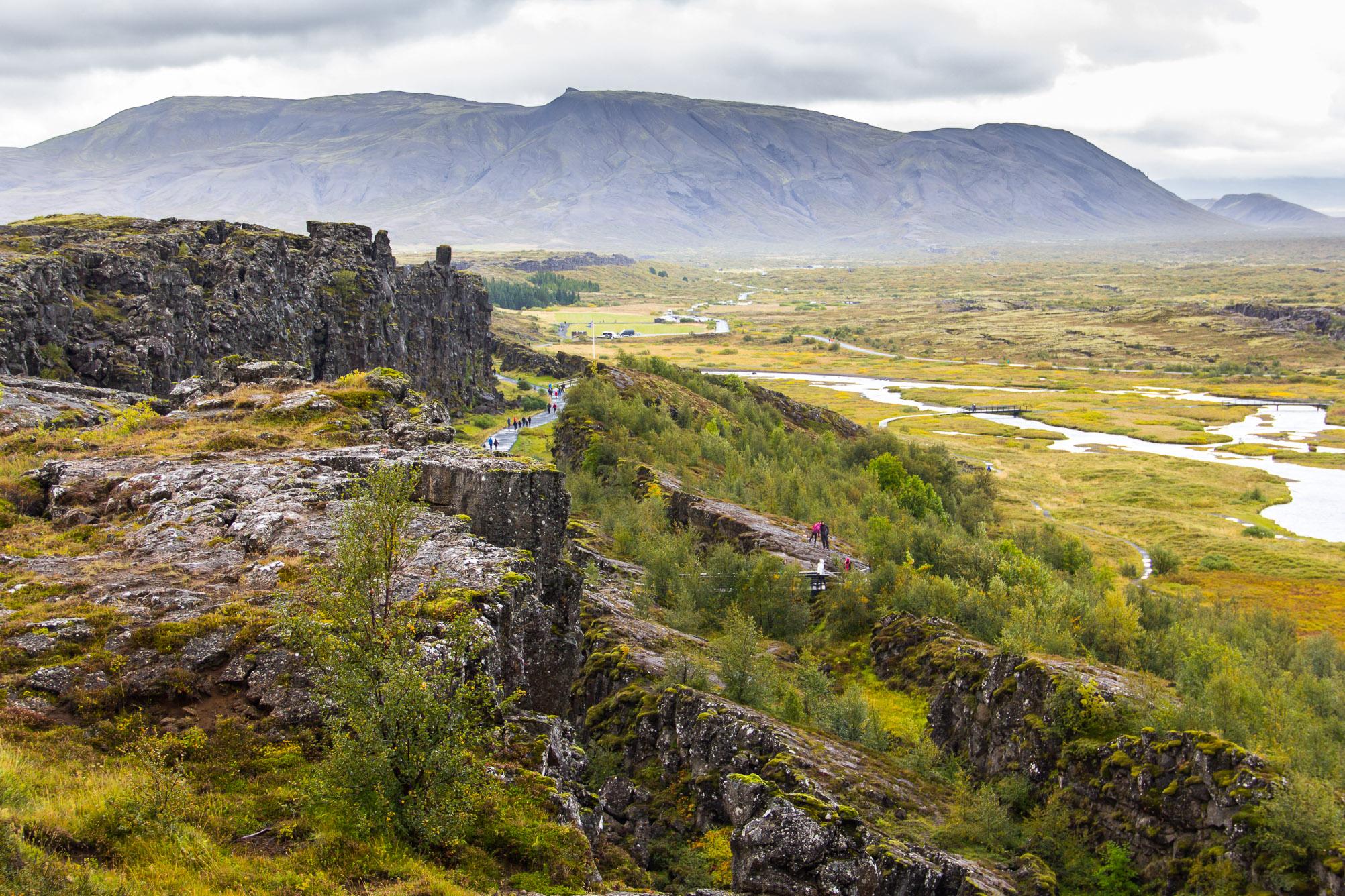 Parc National de Þingvellir, cercle d'or