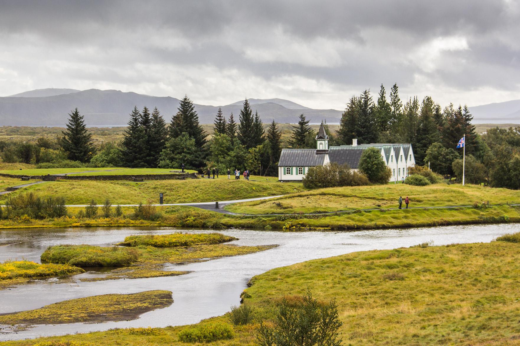 Maison d'été du premier ministre islandais à Þingvellir