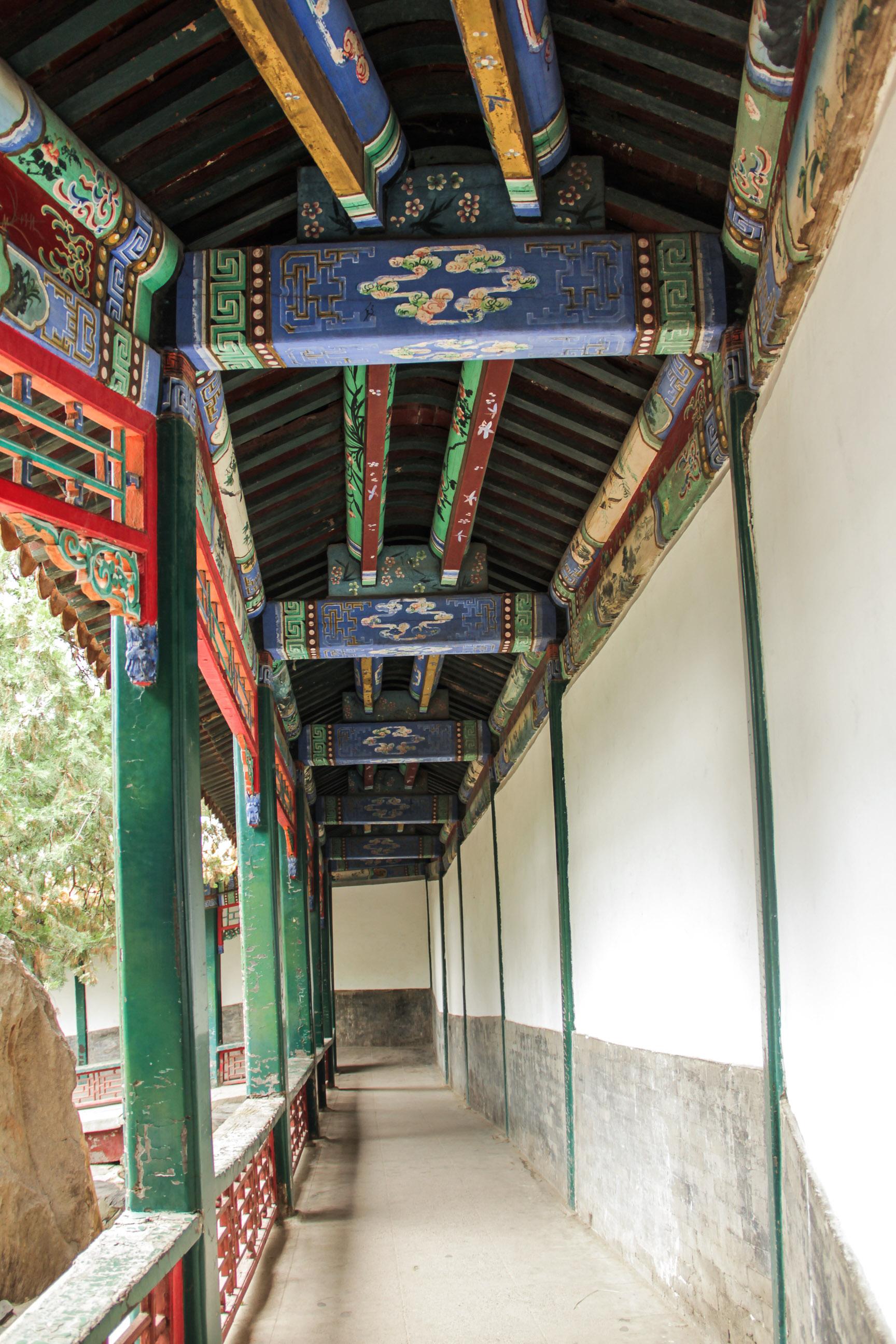 Couloir du palais d'été