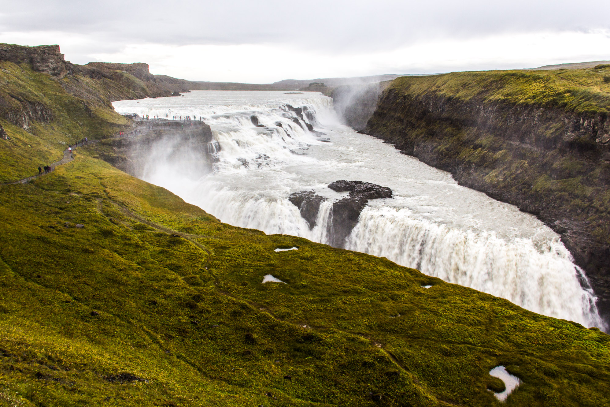 Gulfoss, Cercle d'Or en Islande