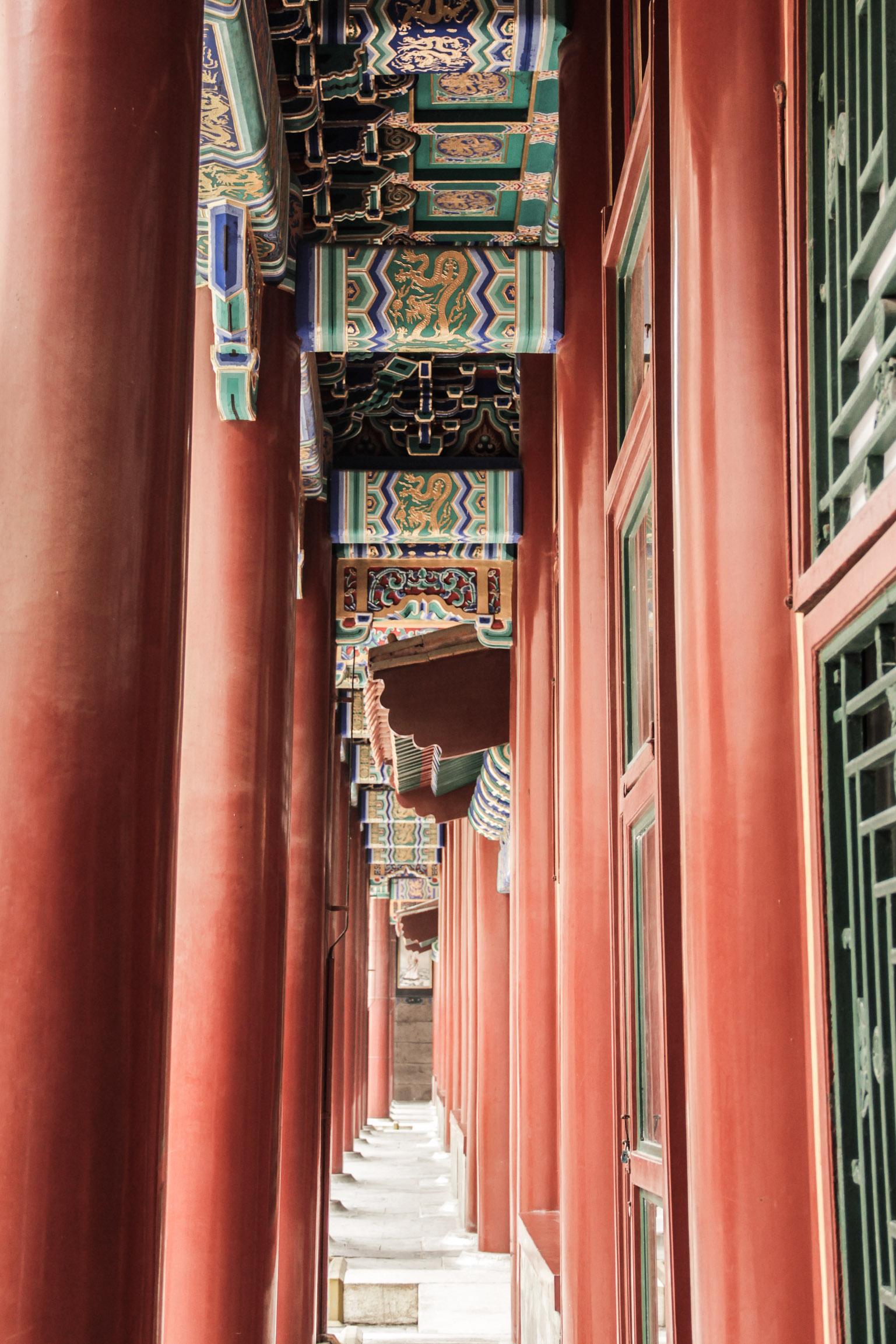 Couloir dans le Palais d'été