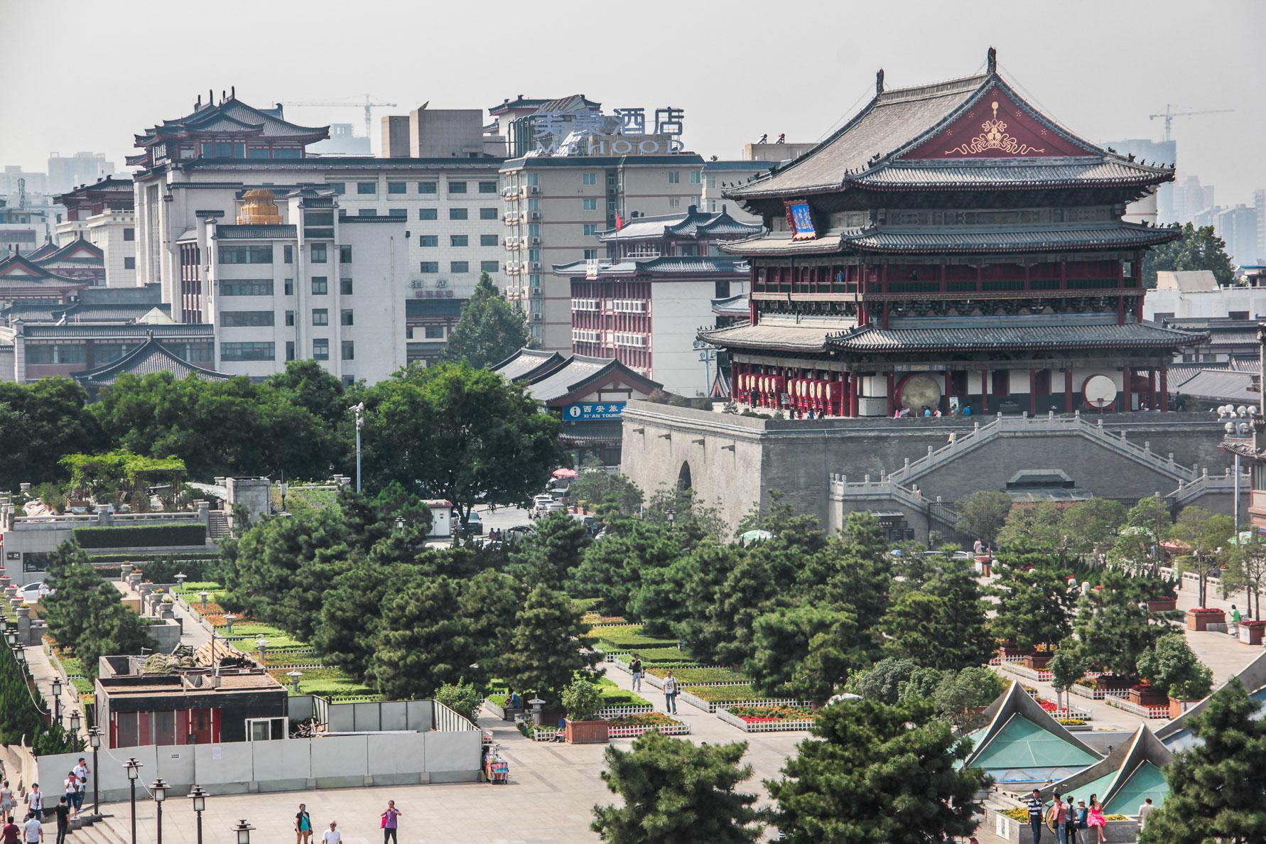 Tour du Tambour à Xi'an