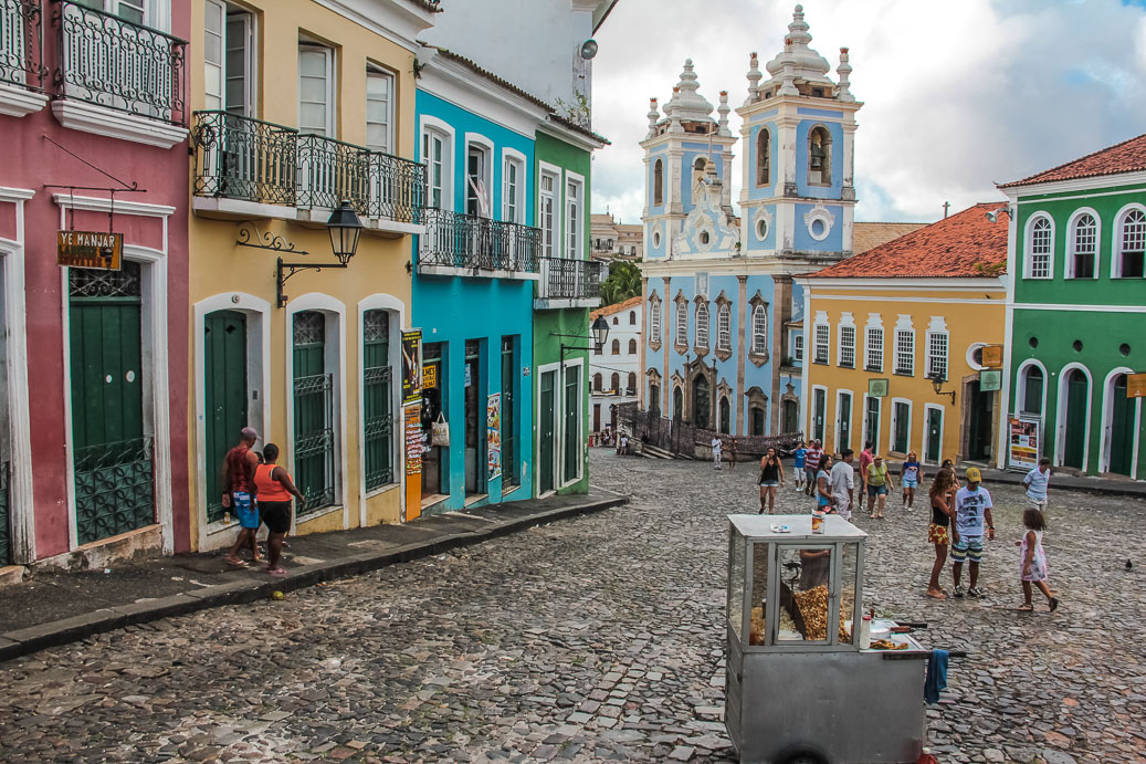 Pelourinho à Salvador de Bahia