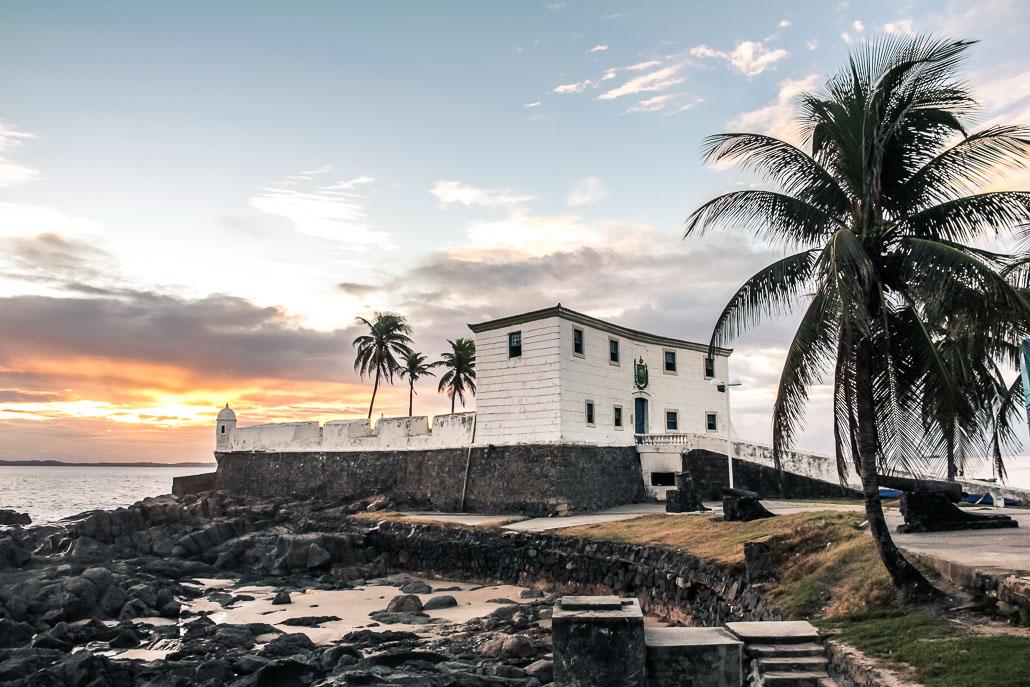 Fort portugais à Salvador de Bahia