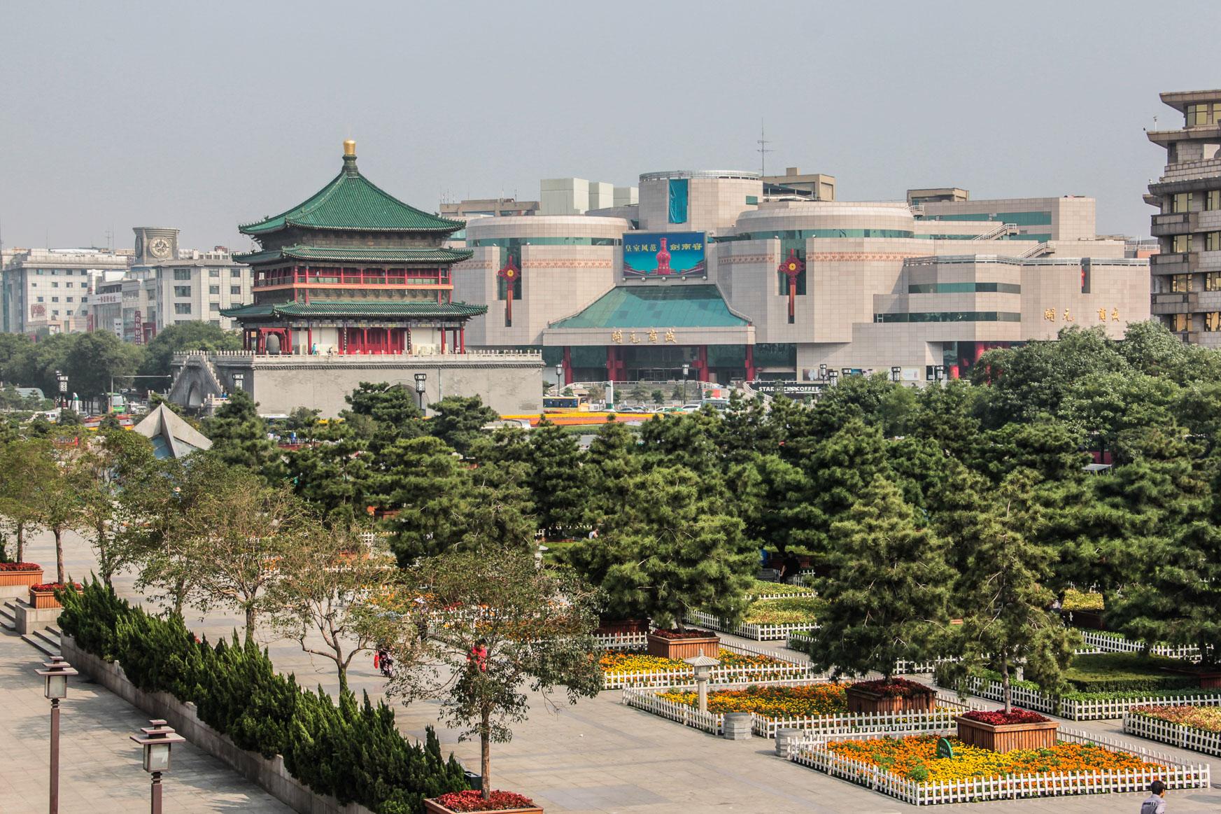 Tour de la Cloche à Xi'an