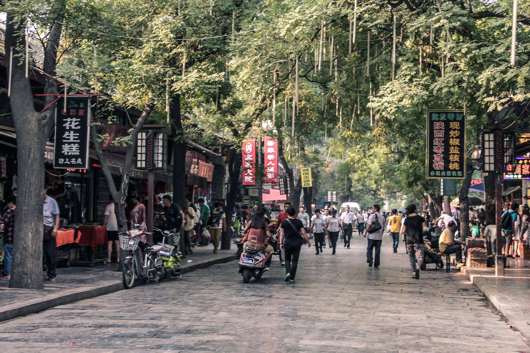 Quartier musulman à Xi'an