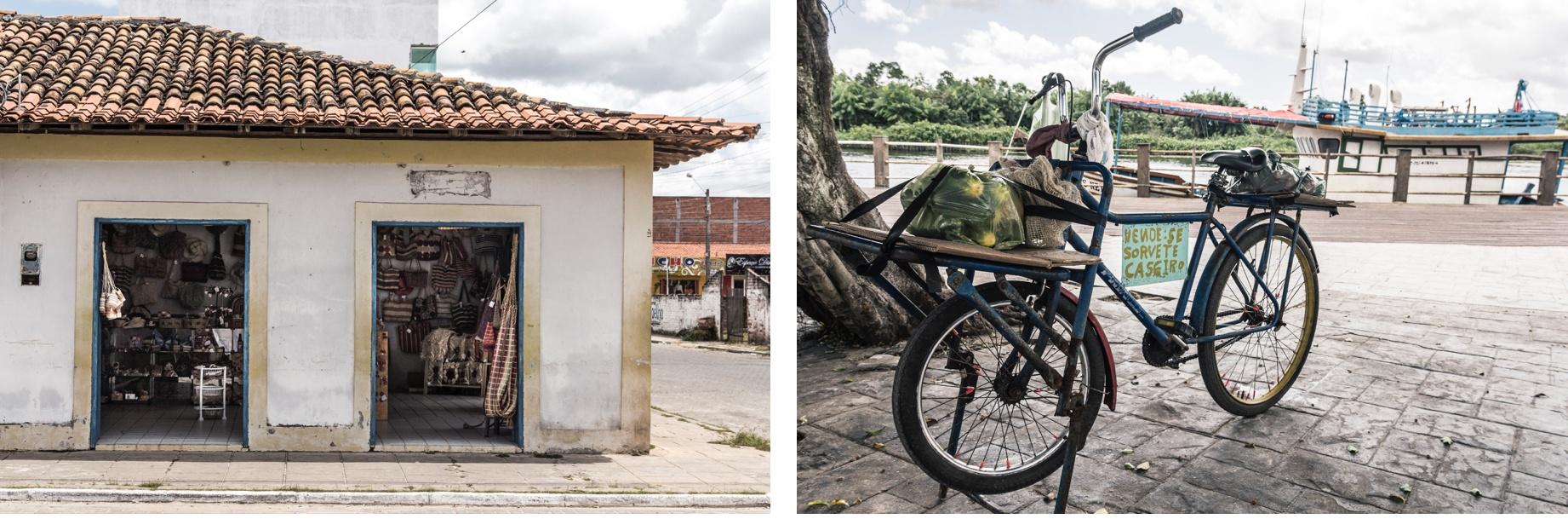 Commerces à Barreirinhas. Route des Sensations.