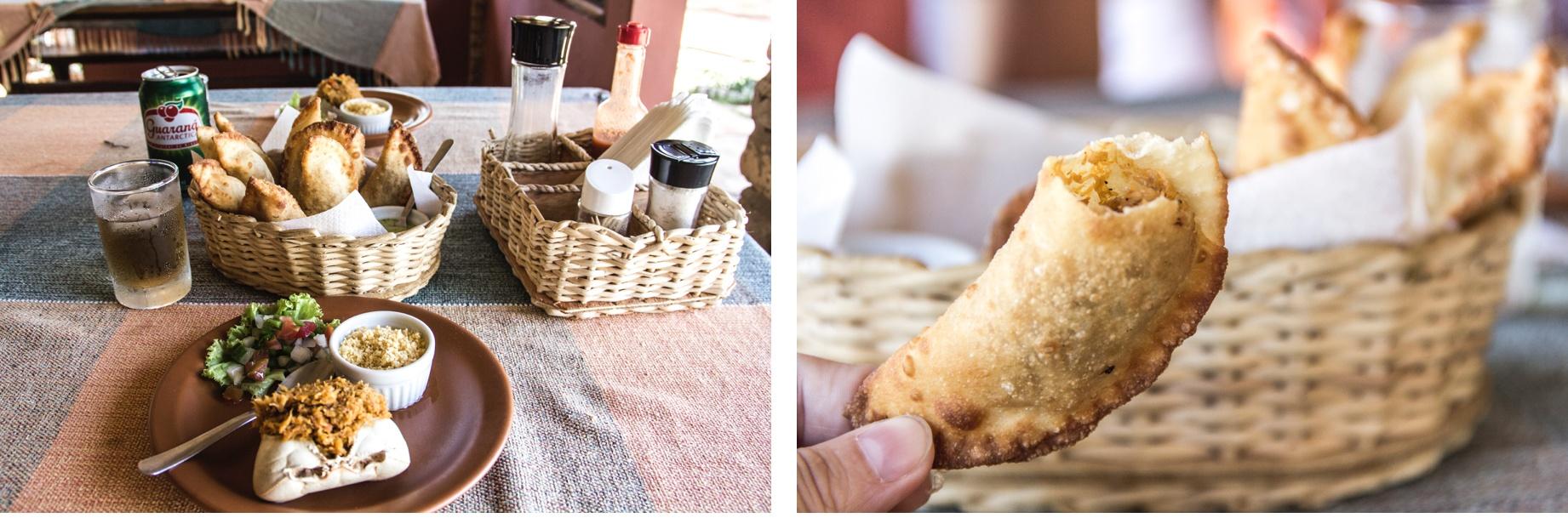 Des snacks brésiliens sur le Delta do Parnaiba. Sur la Route des Sensations.
