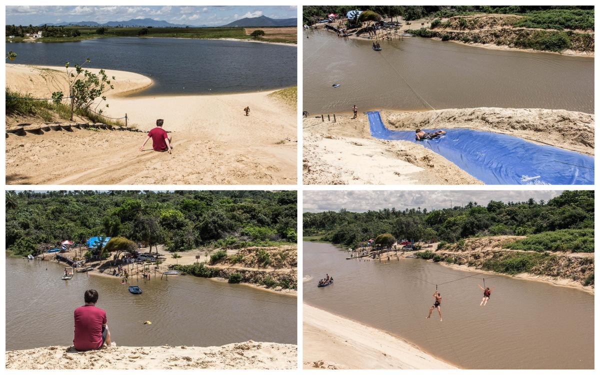 Les sensations fortes dans les dunes à Cumbuco - Route des Sensations