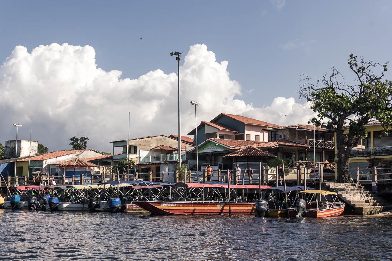 Le port de la ville de Barreirinhas - Route des Sensations