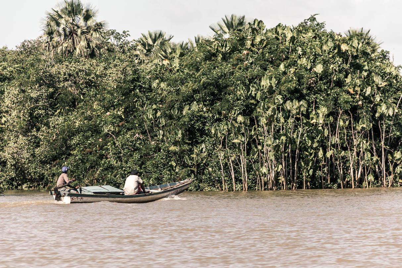 Pêcheurs de crabe sur le fleuve Parnaiba - Route des sensations
