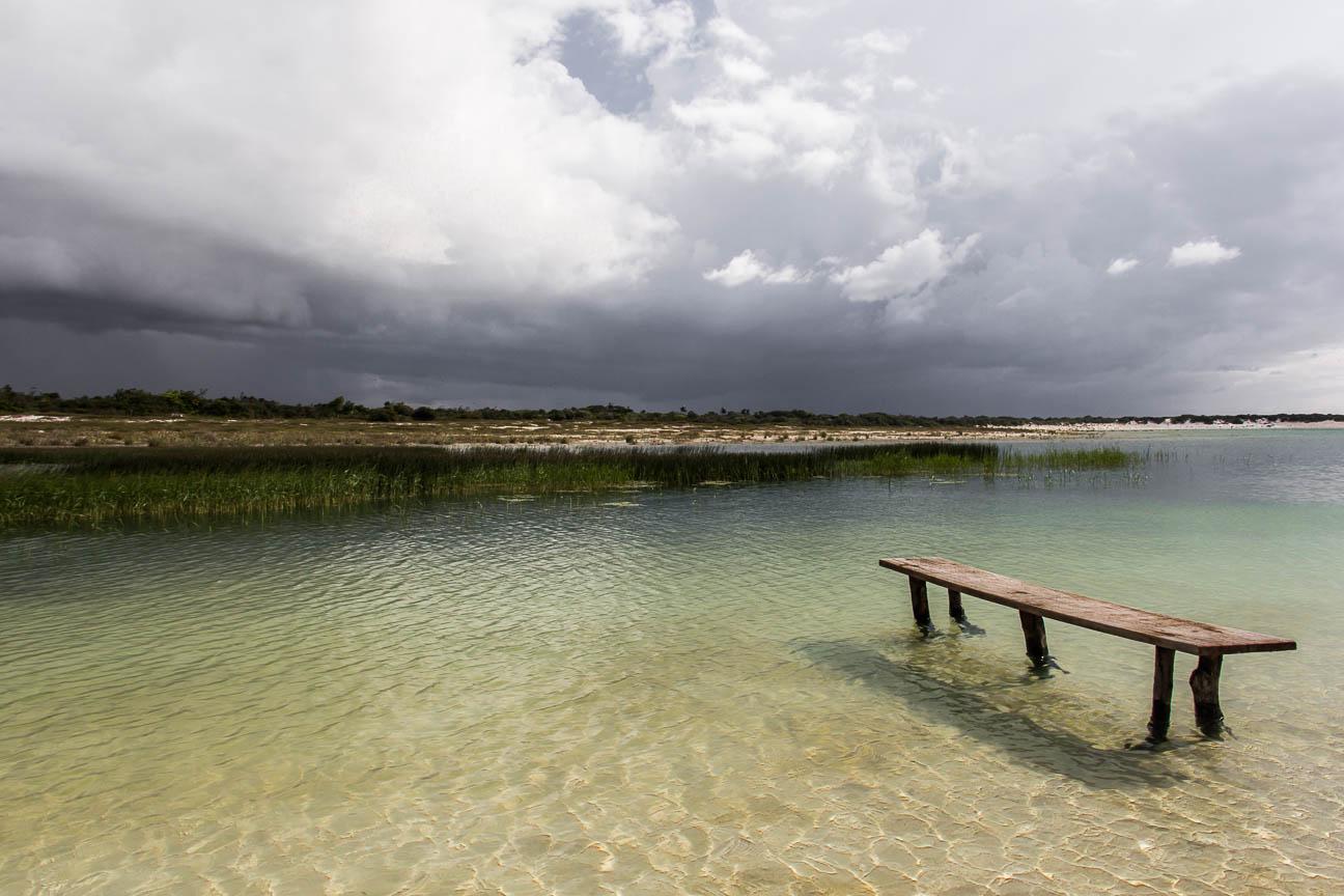 Laguna Azul à Jericoacoara - Route des Sensations