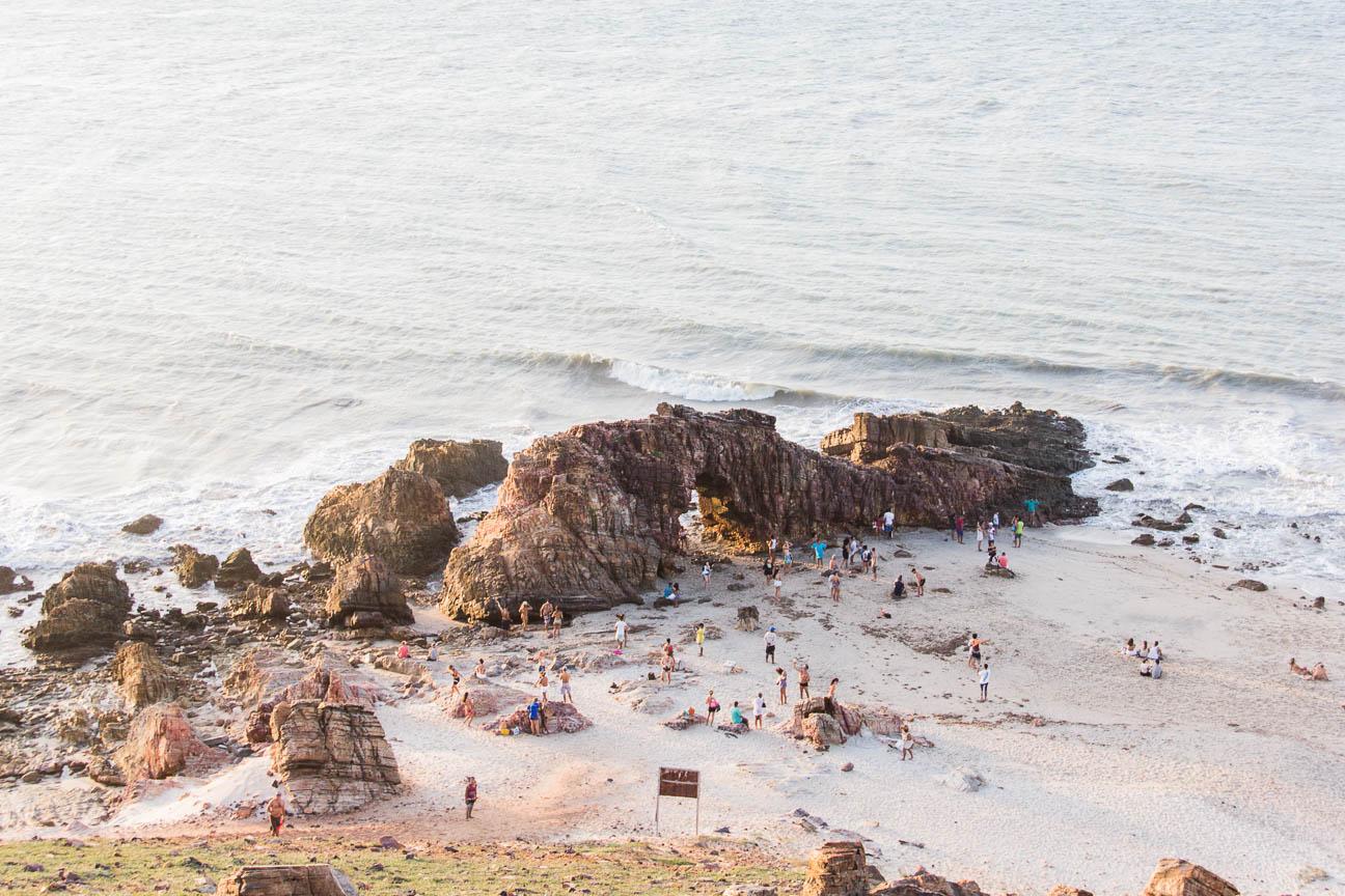 Pedra Furada à Jericoacoara - Route des Sensations
