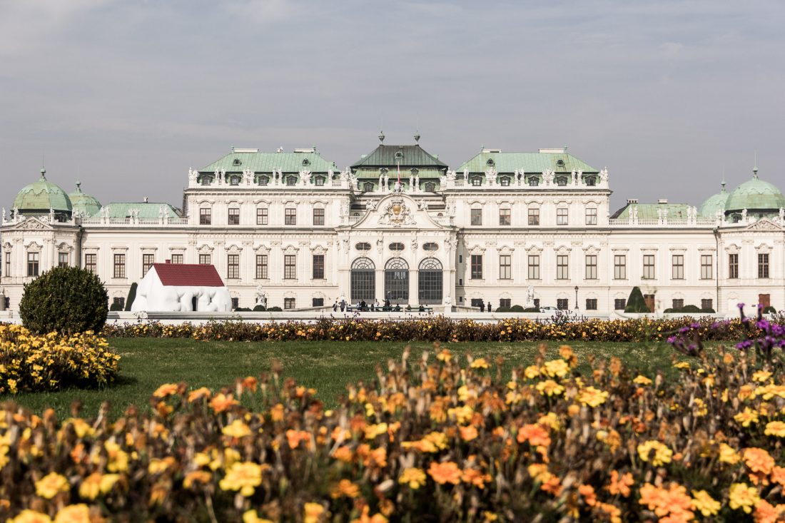 Le Haut Belvédère à Vienne.