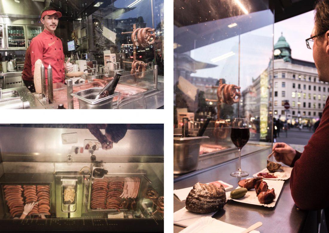 Bitzinger, le meilleur stand à saucisses de Vienne.